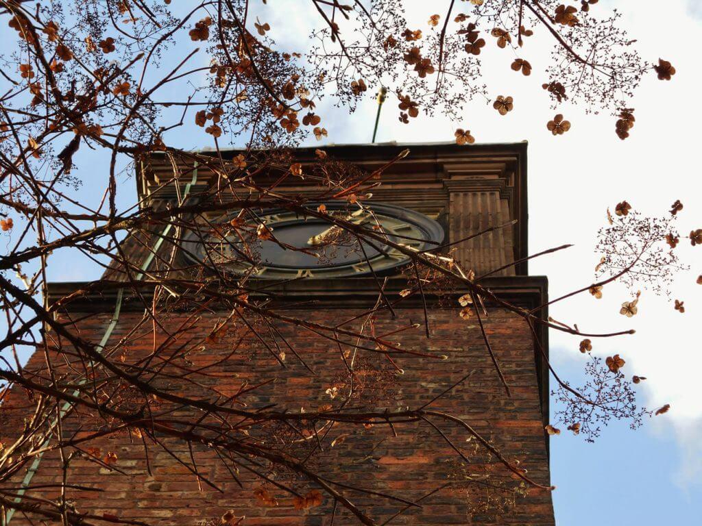Walton Hall and Gardens clock tower