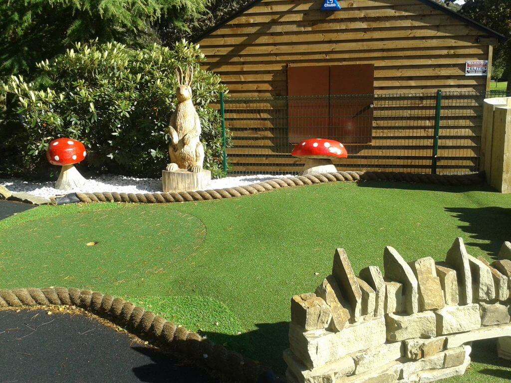 The Adventure Golf course at Walton Hall and Gardens