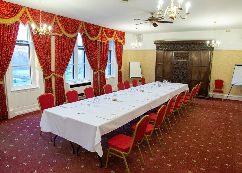 Side view of our Daresbury room
