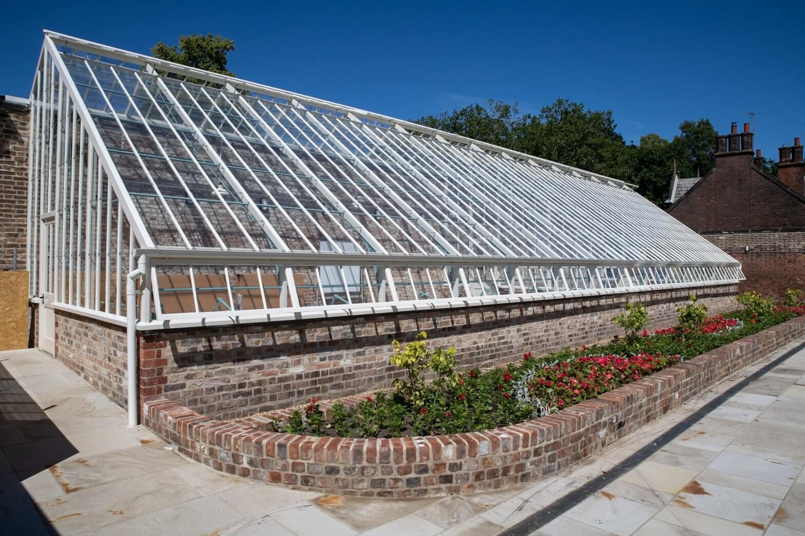 Glasshouse at Walton Hall Gardens