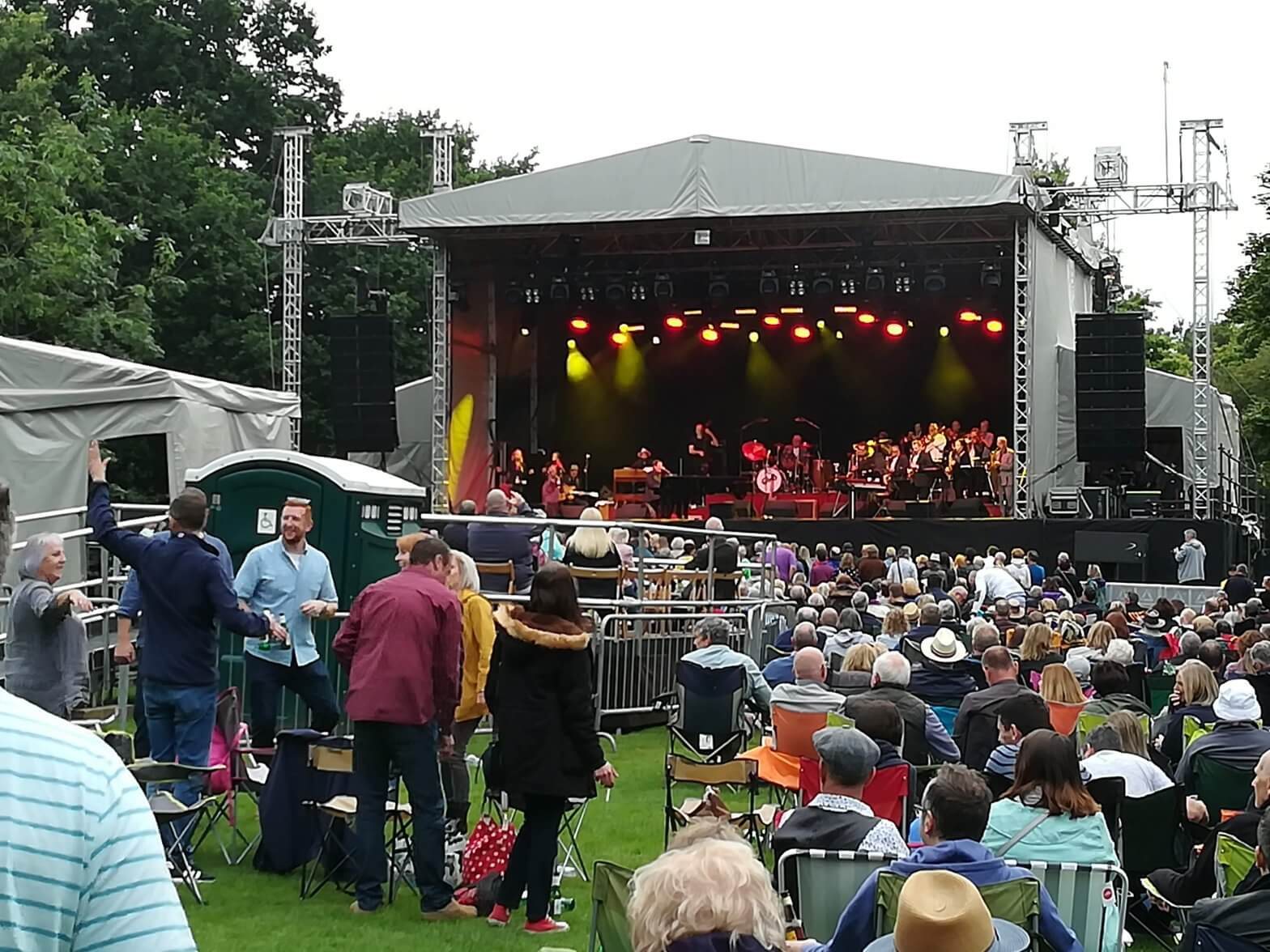 Jools Holland in the Park