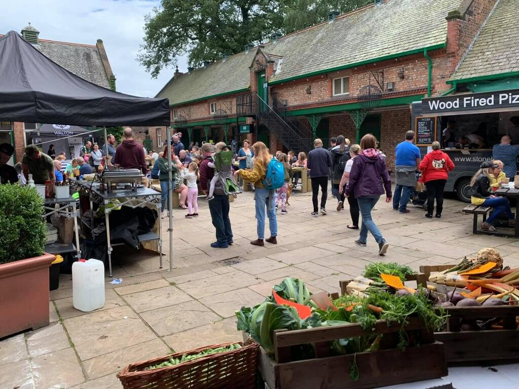 Warrington Artisan Market hosted at The Stables, Walton Hall and Gardens