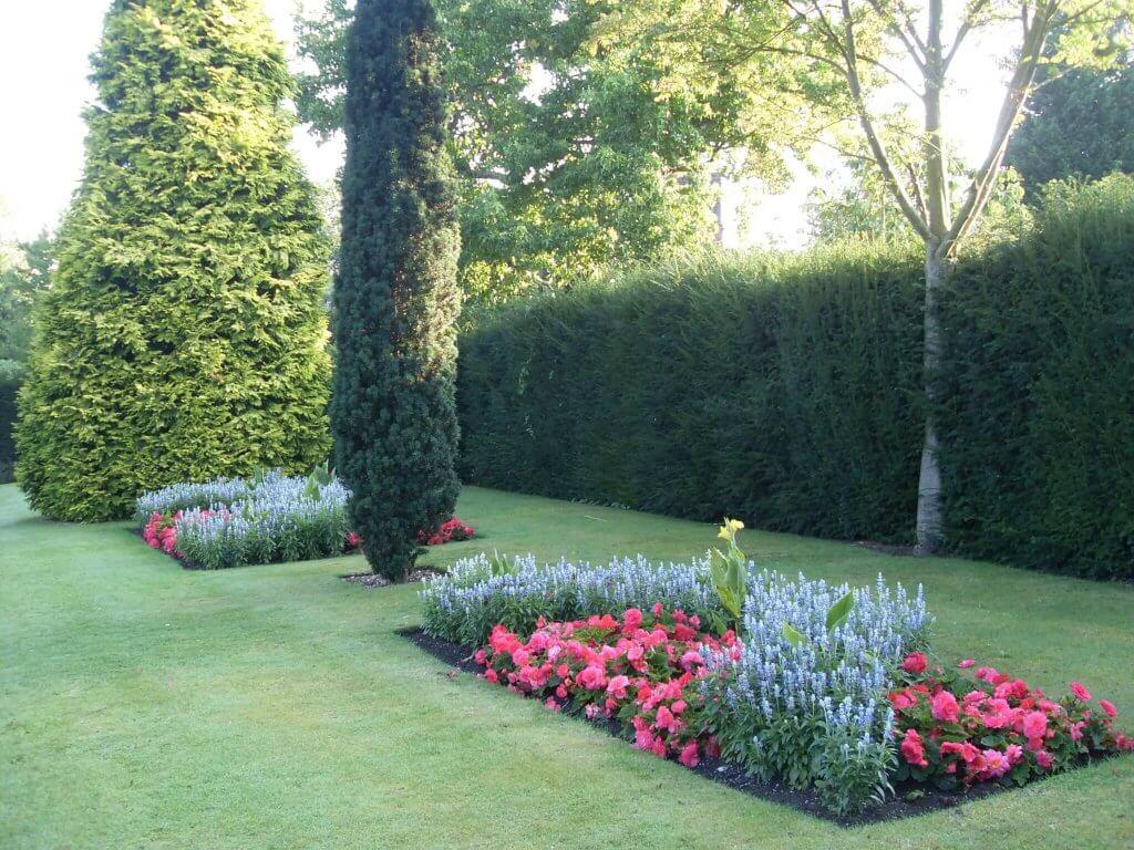 Lady Daresbury's formal gardens still look beautiful, even today
