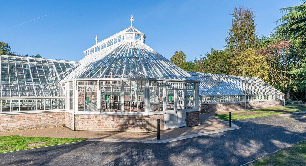 Glasshouses from the outside