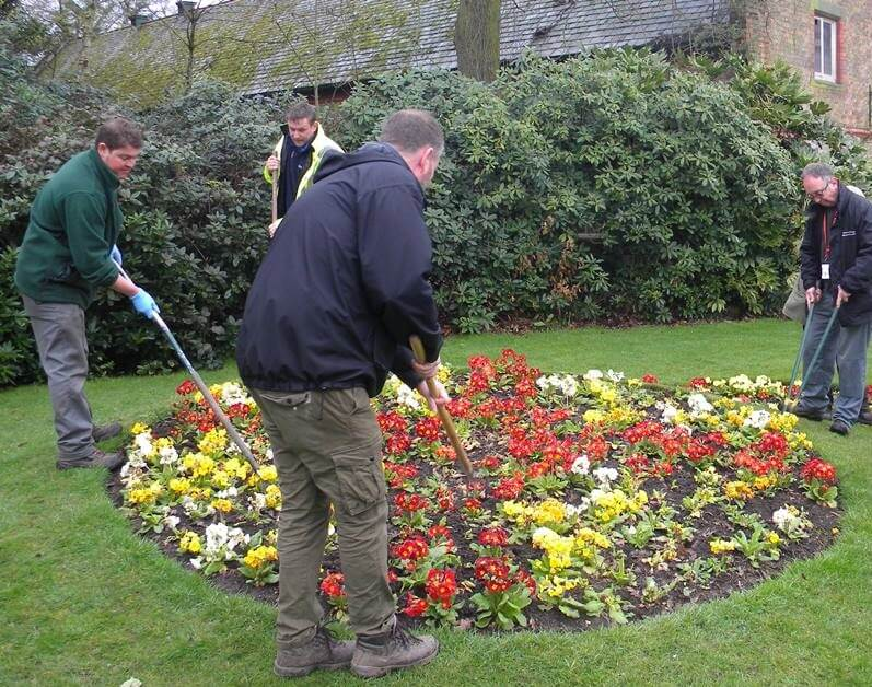Volunteering at Walton Hall and Gardens, Warrington