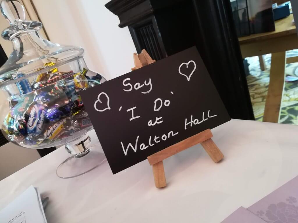 Wedding packages at Walton Hall and Gardens