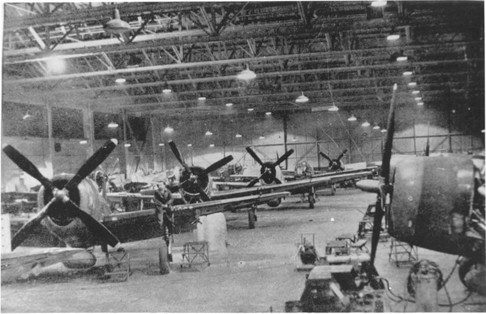 Spitfire at RAF Warrington 1940