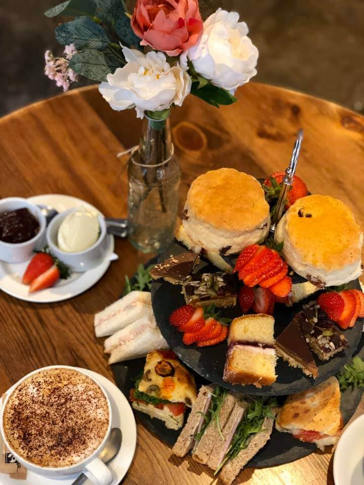 Afternoon tea at the Heritage Cafe