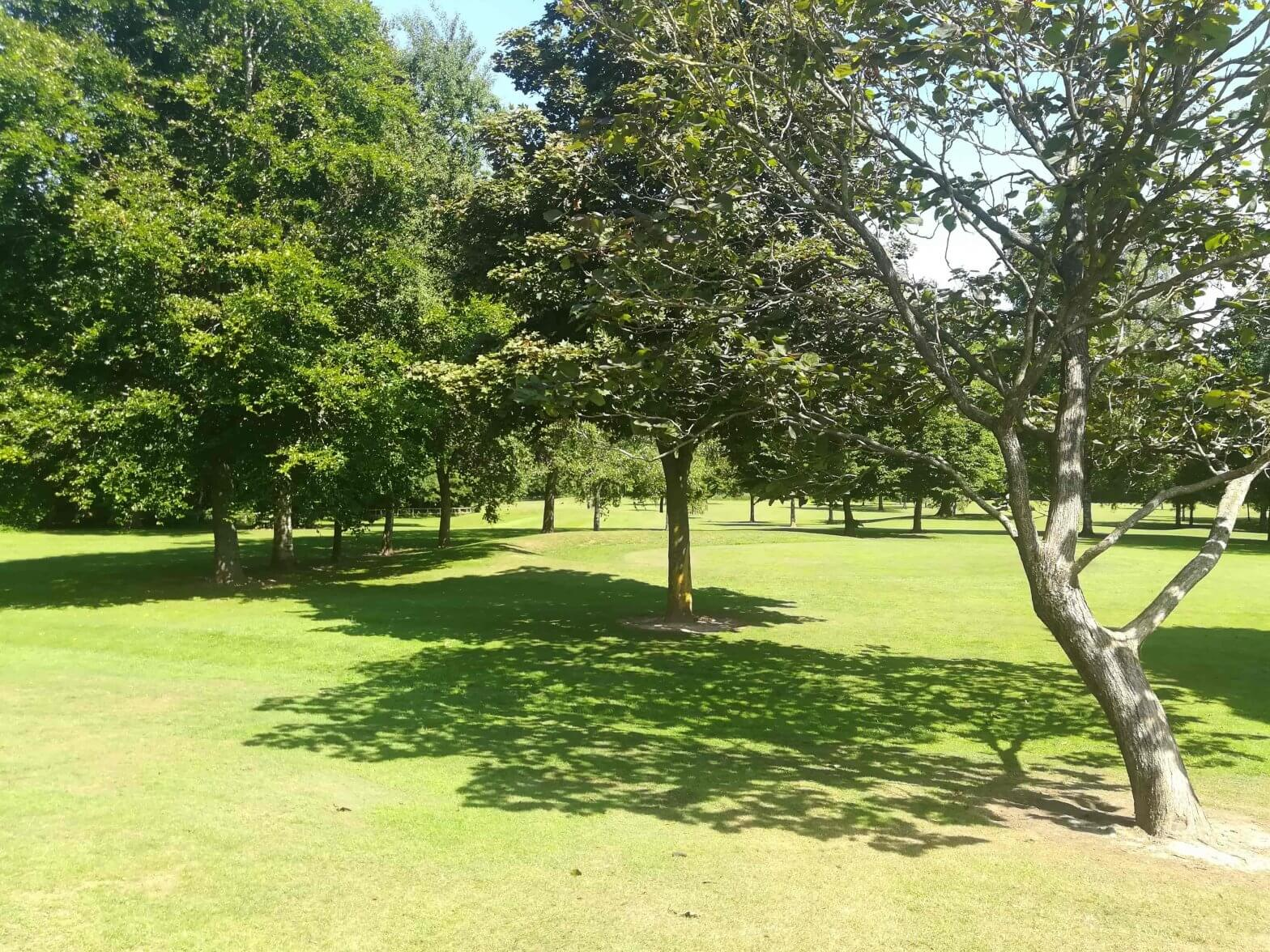 Pitch 'n' Putt at Walton Hall and Gardens, one of our many outdoor activities
