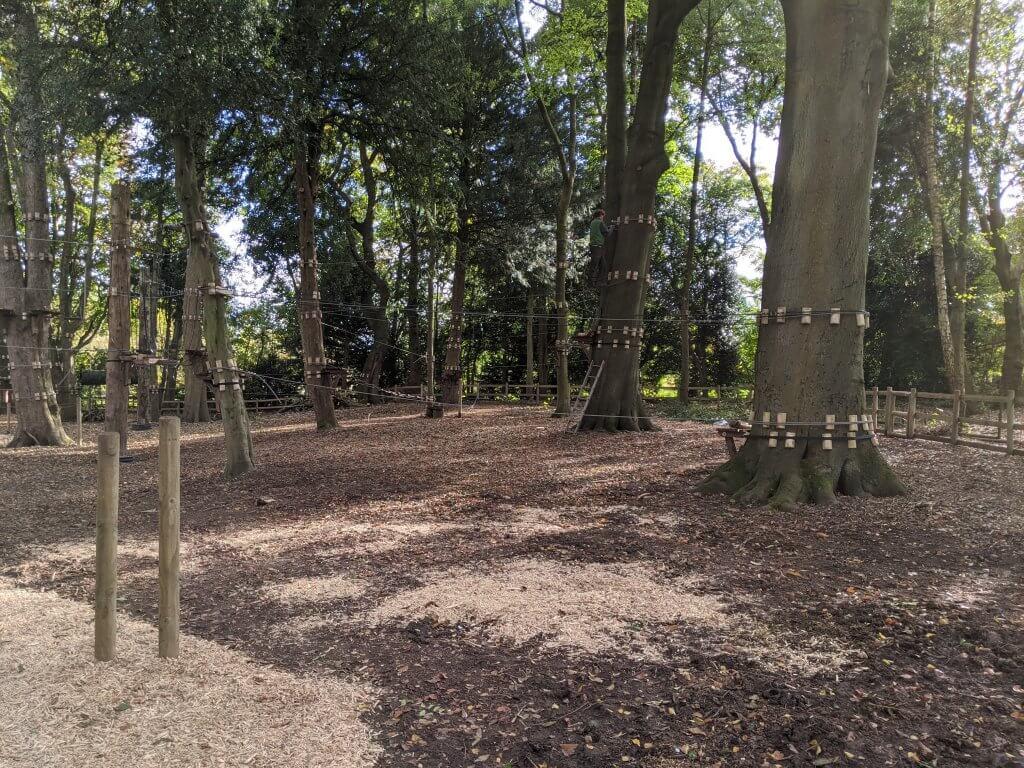 High ropes progress at Walton Hall and Gardens