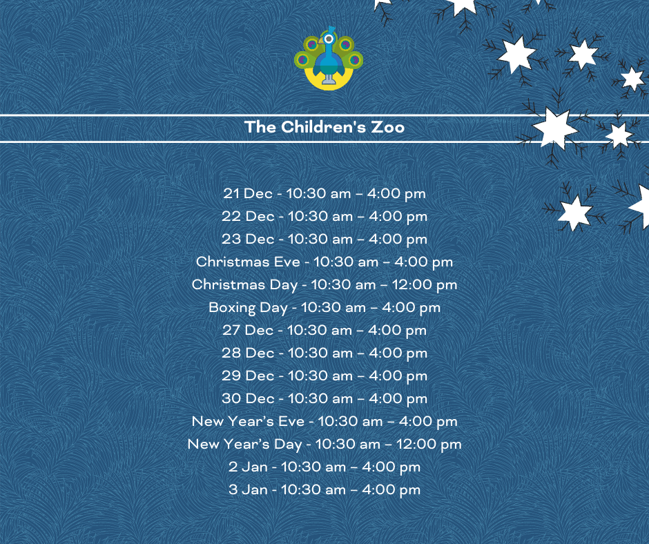 Children's Zoo opening times