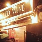 Mulled wine at illuminate light show